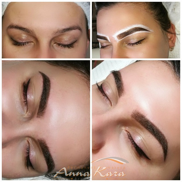 Eyebrow Tattoo San Diego - Permanent Makeup By Anna Kara