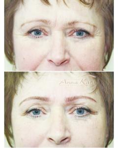 Eyebrows Permanent makeup by Anna Kara