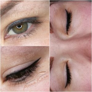 Permanent Eyeliner - Painless Permanent Makeup San Diego