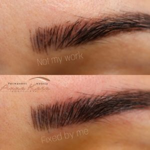 Permanent Eyebrows San Diego - Permanent Makeup by Anna Kara