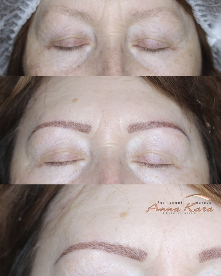 Microblading San Diego - Unique Eyebrows Microblading By Anna Kara