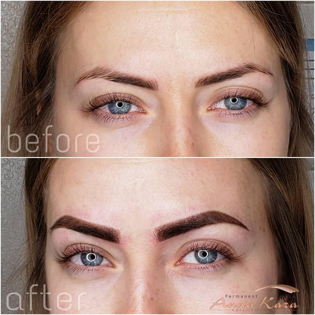 Permanent Makeup Eyebrows Makeupview Co